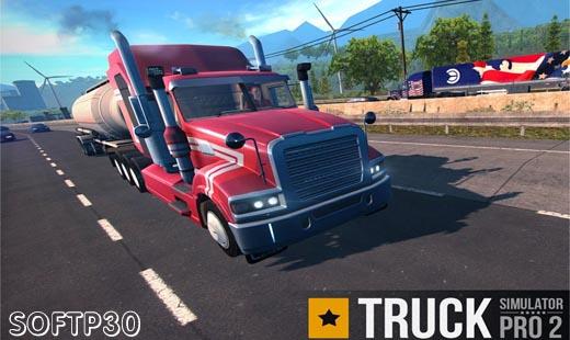 دانلود Truck Simulator PRO 2