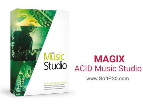 دانلود نرم افزار MAGIX ACID Music Studio