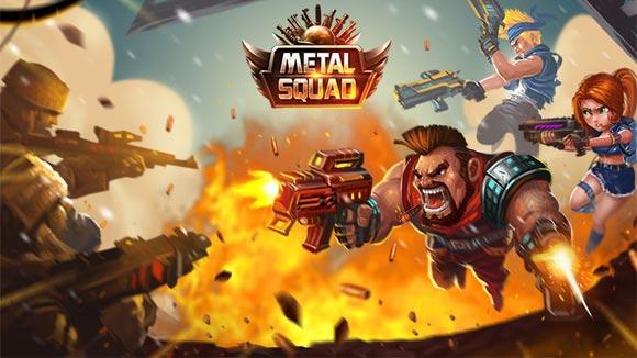 دانلود بازی اندروید Metal Squad v1.5.2 بازی سرباز آهنی اندروید