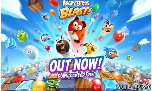 دانلود بازی - Angry Birds Blast v1.4.4 بازی پرندگان خشمگین اندروید