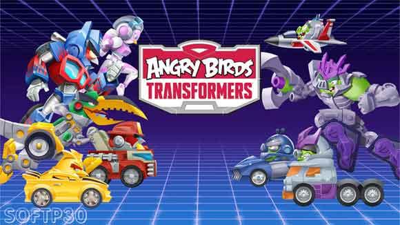 دانلود بازی اندروید Angry Birds Transformers v1.30.4 بازی اندروید پرندگان خشمگین