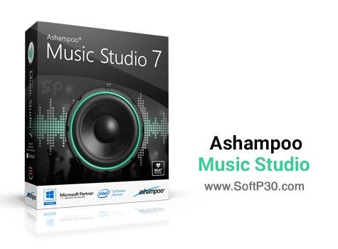 دانلود نرم افزار Ashampoo Music Studio v7.0.0.29 نرم افزار مدیریت موزیک