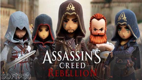 دانلود بازی اندروید Assassin's Creed Rebellion v1.1.1 بازی اساسین کرید اندروید