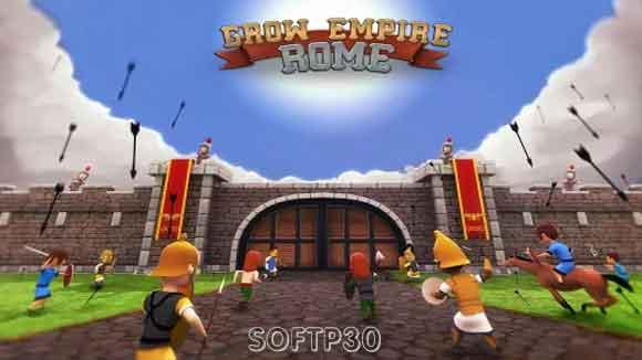 دانلود بازی اندروید Grow Empire: Rome v1.3.33 بازی گستردش امپراطوری روم اندروید