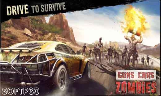 دانلود بازی - Guns Cars Zombies v1.3.0.1 بازی نبرد با زامبی ها اندروید