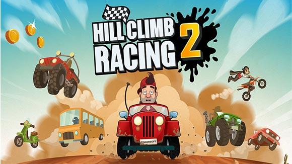 دانلود بازی اندروید Hill Climb Racing 2 v1.15.1 بازی ماشین سواری اندروید