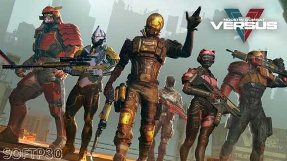 دانلود بازی اندروید Modern Combat Versus v0.15.4 بازی مبارزات مدرن 6 اندروید