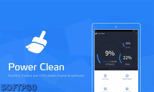 دانلود نرم افزار Power Clean Optimize Cleaner v2.9.6.0 بهینه ساز اندروید