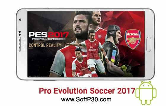 بازی فوتبال 2017 برای اندروید Pro Evolution Soccer 2017 v1.2.0