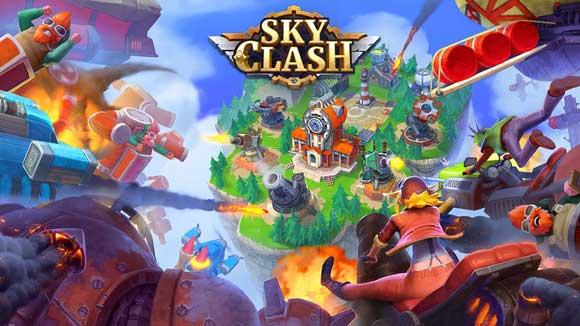 دانلود بازی اندروید Sky Clash: Lords of Clans 3D v1.41.1927 بازی برخورد آسمان اندروید