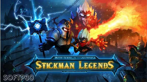 دانلود بازی - Stickman Legends v1.3.5 بازی افسانه استیکمن اندروید
