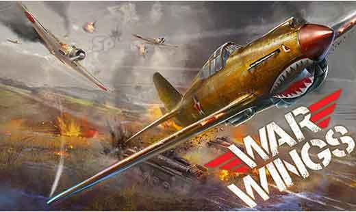 دانلود بازی اندروید War Wings v3.0.41 بازی جنگ هوایی اندروید