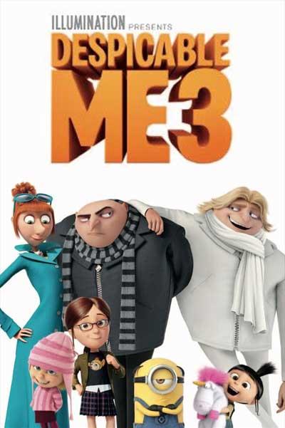 دانلود انیمیشن Despicable Me 3 من نفرت انگیز 3