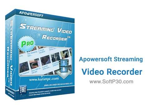 دانلود نرم افزار Apowersoft Streaming Video Recorder v6.2.3 دانلود ویدیو