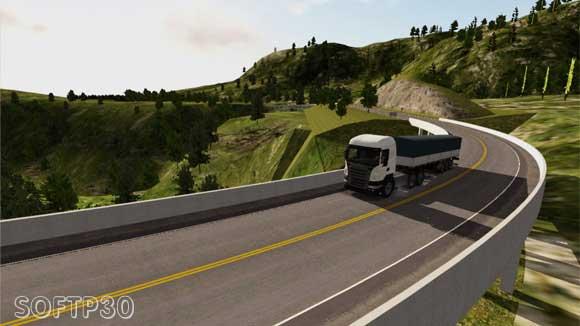 دانلود بازی اندروید Heavy Truck Simulator v1.920 بازی ماشین سنگین اندروید