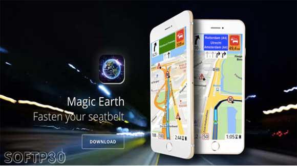 دانلود نرم افزار Magic Earth Navigation & Maps v7.1.17.35.7 جی پی اس اندروید