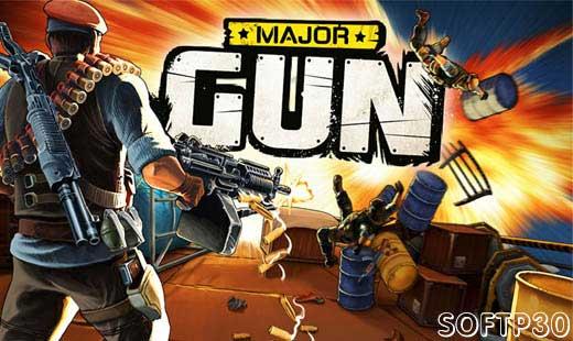 دانلود بازی اندروید Major Gun : terror shooter v3.9.6 بازی تفنگ سنگین