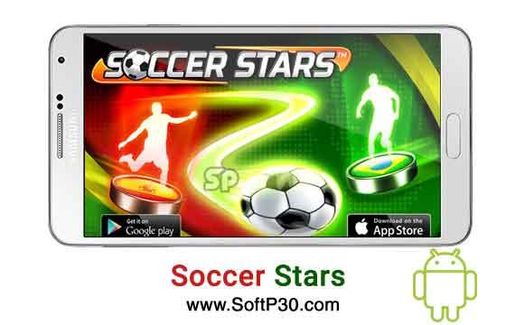 دانلود بازی اندروید Soccer Stars v3.8.0 بازی اندروید ستاره های فوتبال