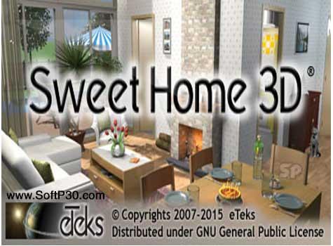 دانلود نرم افزار Sweet Home 3D v5.5 طراحی 3 بعدی دکوراسیون