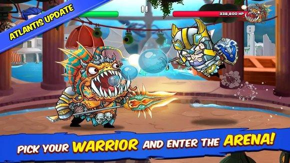 دانلود بازی Tiny Gladiators بازی گلادیاتورهای کوچک اندروید