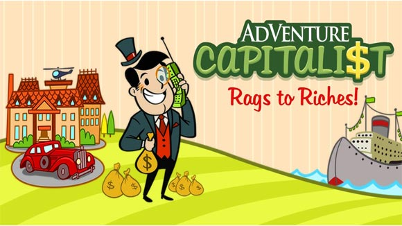 دانلود بازی اندروید AdVenture Capitalist v6.1.2 بازی سرمایه دار ماجراجو اندروید