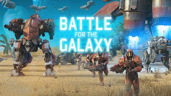 دانلود بازی اندروید Battle for the Galaxy v2.5.0 بازی نبرد برای کهکشان اندروید
