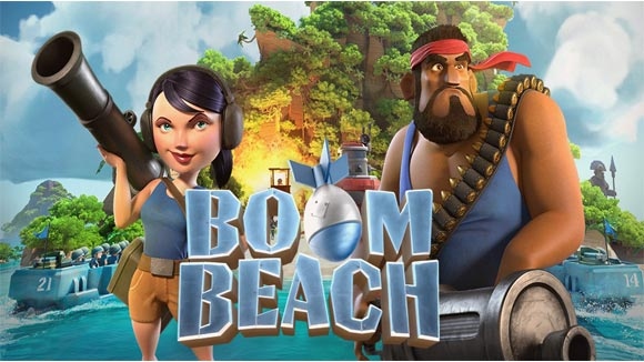 دانلود بازی اندروید Boom Beach v34.181 بازی استراتژیک بوم بیچ اندروید