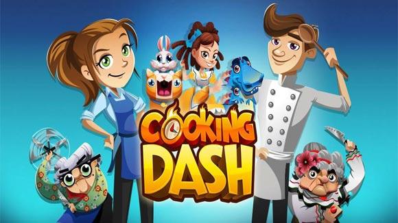 دانلود بازی اندروید COOKING DASH v2.5.2 بازی رقابت پخت و پز اندروید