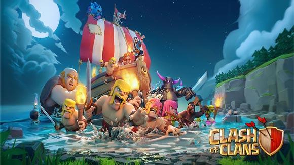دانلود بازی اندروید Clash of Clans v10.134.11 بازی کلش اف کلنز اندروید