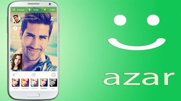 دانلود برنامه اندروید Azar - Video Chat & Call, Text v3.12.5 نرم افزار آذر اندروید
