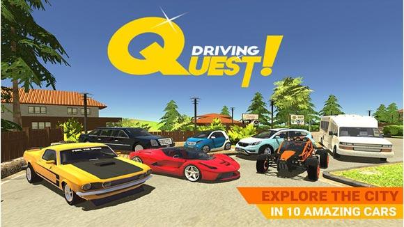 دانلود بازی اندروید Driving Quest v1.1 بازی تلاش در رانندگی اندروید