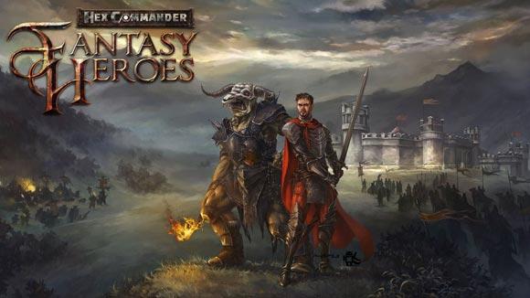 دانلود بازی اندروید Hex Commander: Fantasy Heroes v3.8 بازی فرمانده هکس اندروید