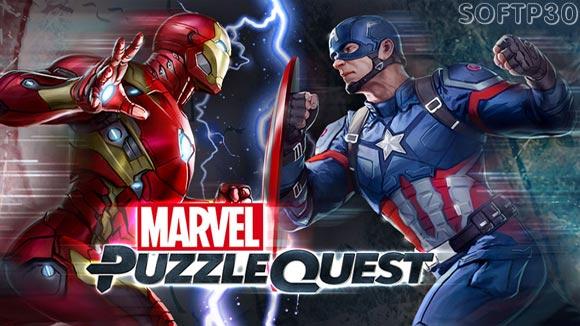 دانلود بازی اندروید Marvel Puzzle Quest v151.439066 بازی پازلی مارول اندروید