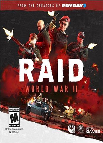 دانلود بازی RAID World War II The Countdown Raid برای PC