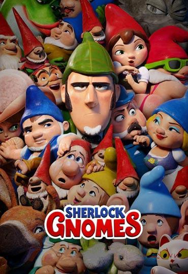 دانلود انیمیشن زبان اصلی Sherlock Gnomes 2018
