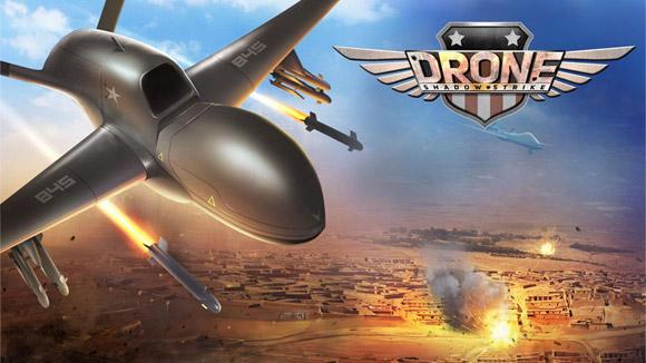 دانلود بازی اندروید Drone Shadow Strike v1.4.48 بازی نبرد پهباد ها اندروید